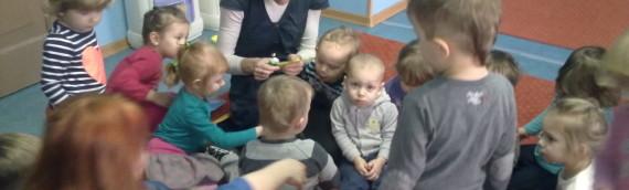 Dzieci podczas zajęć – styczeń 2014r.